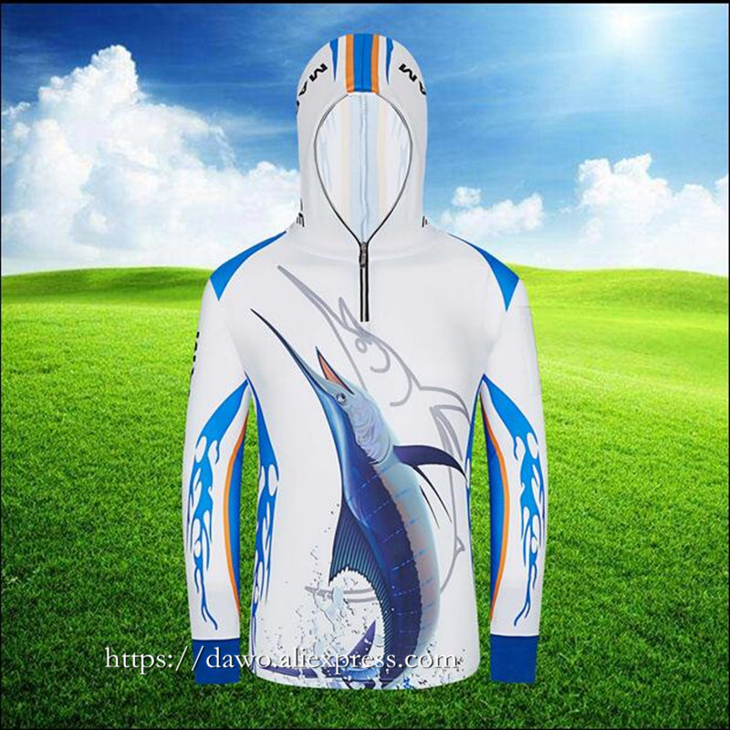 Zomer Heren vissen shirt sportkleding wandelen Klimmen zonwering - Visvangst - Foto 2