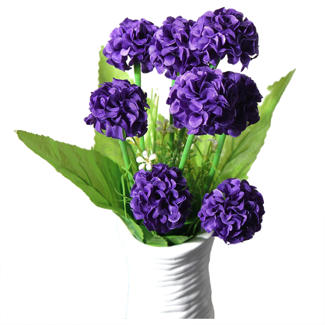 9 Heads 1 Bouquet Artificial Chrysanthemum Silk Flowers Floral Home