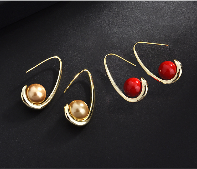fashion pearl gold stud drop earrings 01 (10)