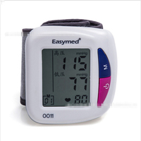 Hot Home Health Care LED Digital Electronic sphygmomanomete Measuring Instrument Wrist Portable Blood Pressure Instrument