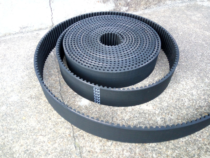 30 meters HTD 5M timing belt width 12mm Arc tooth pitch 5mm Synchronous rubber open ended