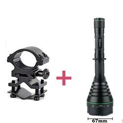 UniqueFire 1508 T67 XPG biała latarka LED regulacja wiązki światła latarka + uchwyt do sportów na świeżym powietrzu zwyczajne wodoodporna
