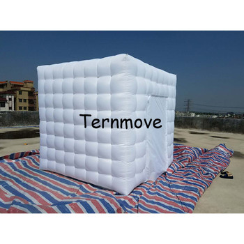 Tent For Trampoline | Inflatable Lighting Studio LED Lighted Inflatable Photo Booth Portable Photo Booth Kiosk Enclosure With Factory Price Toy Tent