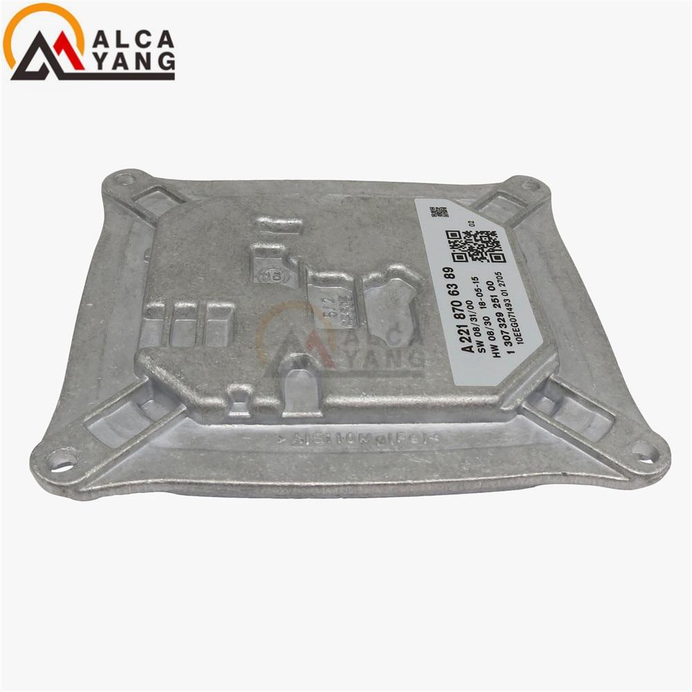 A2218706389 1 307 329 251 00 ECU LED Headlight Ballast Control Module For Mercedes Benz S550 W221 S-Class S600 S350 4MATIC xenon headlight ballast control unit ecu 130732924001 130732924002 130732923900 130732923101 for mercedes c class w204