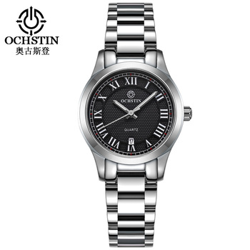 OCHSTIN Women Quartz Stainless Steel Watches Auto Date Fashion Casual Wristwatch Lady Simple Wrist Watch Femme Montres LQ016A