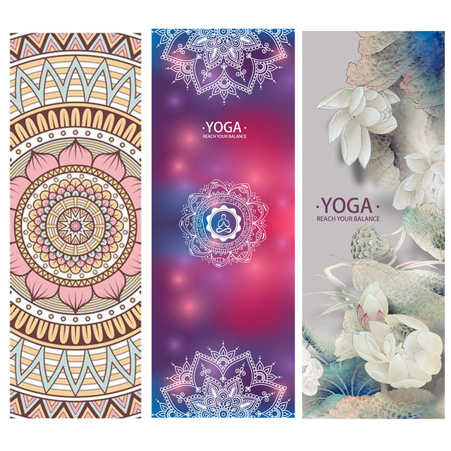 e0ad8c6fc Natural Rubber Yoga Mat 183 63cm 1.5mm Non-slip Folded Portable Yoga Tapete  Pilates Sport Mats Fitness Exercise Pad Yoga Mats