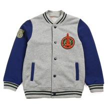The new casual boy baseball clothing children 's cotton terry spring baseball clothing age from 2-10T
