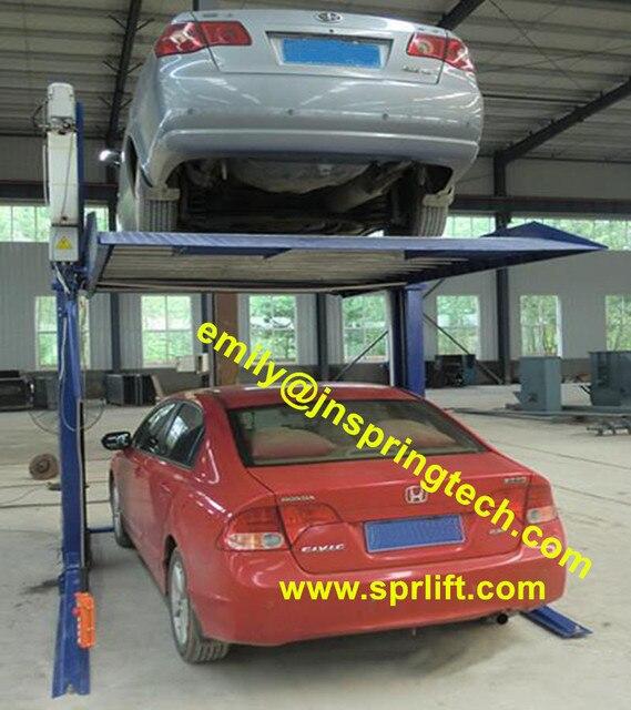 Cheap Tilting Parking Lift Home Small Auto Parking Lift 2 Post Car