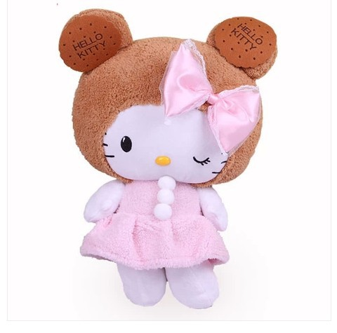 NEW STuffed animal hello kitty doll about 45cm plush toy 17 inch soft Toy birthday gift wh746 stuffed animal 110cm plush tiger toy about 43 inch simulation tiger doll great gift free shipping w018