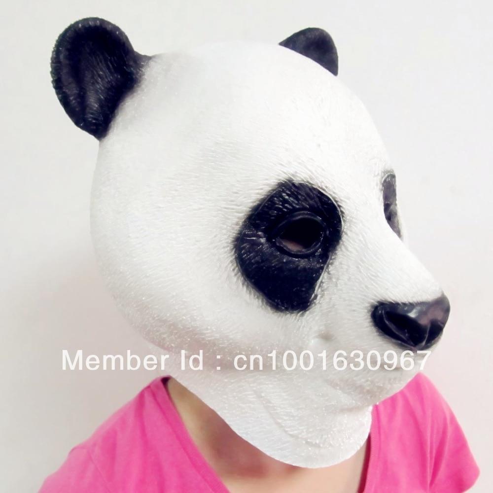 Aliexpress.com : Buy Creepy Cute Panda Horse Mask Head Halloween ...