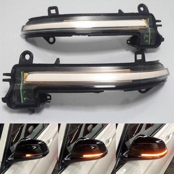 LED Dynamische Blinker Seite Spiegel Sequentielle Licht Lampe Für BMW 1 2 3 4 Serie F20 F21 F22 F23 f30 F31 F32 F33 F34 X1 E84 i3
