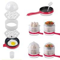 220 볼트 더블 레이어 전기 14 계란 보일러 계란 밥솥 기선 팬 주방 요리 도구 주방기구 350