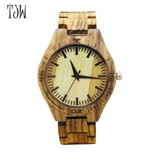 Men's fashion Bamboo Wooden Wrist watch top  Brand Luxury Wood Watches Men Christmas Gifts