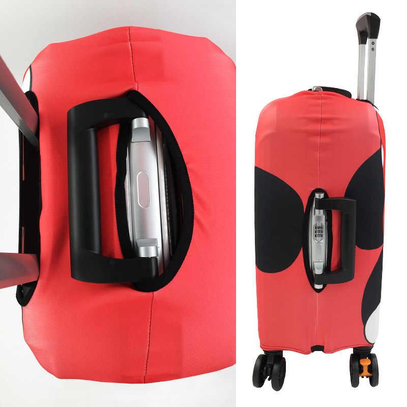 Чемодан с Минни Микки, эластичные Чехлы для 19-32 дюймовых тележек, защитный чехол для багажа, аксессуары для путешествий