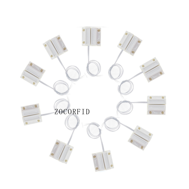Free Shipping 50pcs MC 38 Door Window Contacts Security Magnetic Reed  Spring Switch Alarm Normal