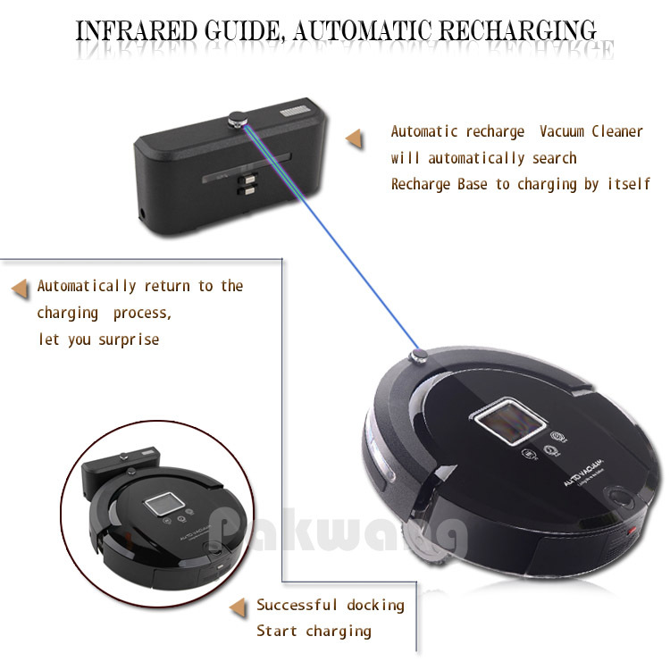 4 in 1 Robot Vacuum Cleaner for Home A320 Automatic Sweeping Dust Sterilize Smart Cleaenr Remote Control Vacuum Robot Aspirador