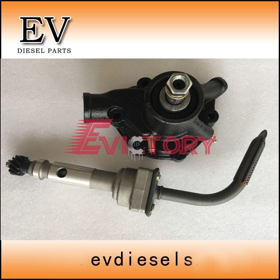 for Mitsubishi forklift  FD50 FD60 S6E S6E2 water pum and oil pump|pump pump|pum pum|pump for oil - title=