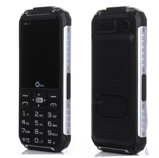 מקורי Oeina XP6000 לפיד כפול צד מתכת מחוספס חיצוני נייד בנק כוח GSM טלפון סלולרי כפולה זקן בכיר
