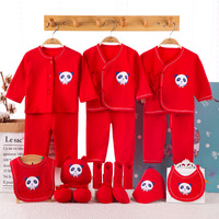 2019 Newborn Baby Clothes Soft Cotton Toddler Baby Boy Girl Clothes Set Infant Clothing New Born Gift Sets Without B