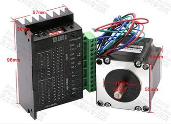 цена на Nema 23 Stepper Motor 57mm 3A Drive TB6600 motor for laser CNC engrave machine