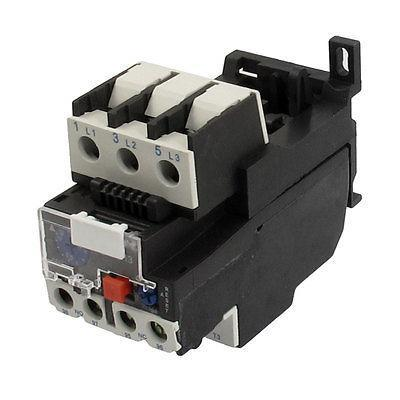 AC 0.40A to 0.63A Motor Protection Thermal Overload Relay 2 pin thermal overload protection