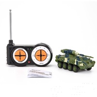 Ewellsold 1/72 Radyo Kontrollü Mini RC Alman Askeri Stricker Topçu Araba Tipi-G Elektrikli Airsoft Mini RC Tankı