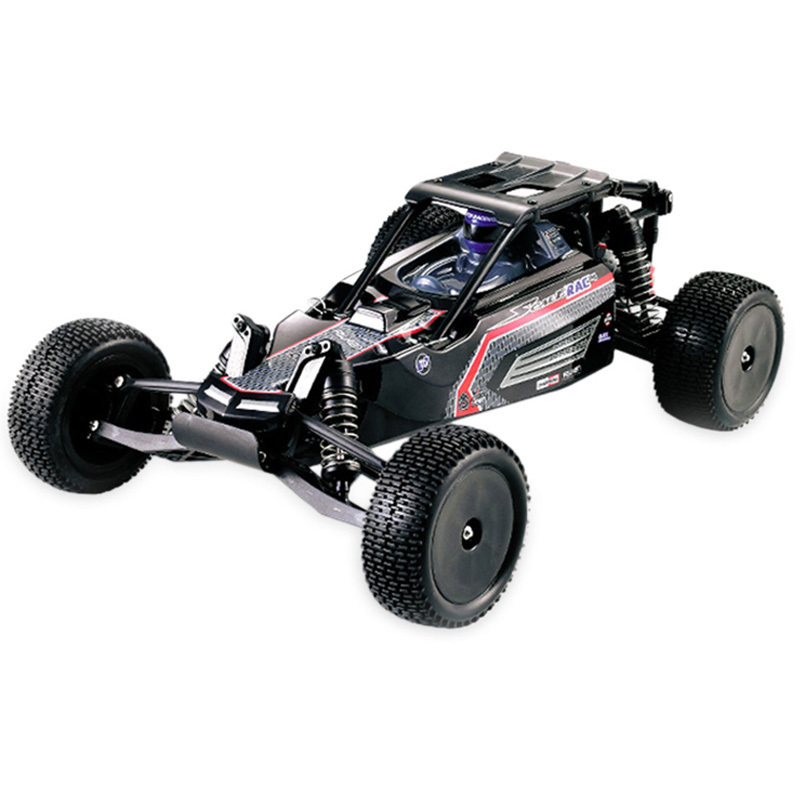 цена на HUANQI 739 High Speed RC Cars 1:10 Scale 2.4G 2WD 42km/h Rechargeable Remote Control Short Truck Off-road Car RTR Vehicle Toy