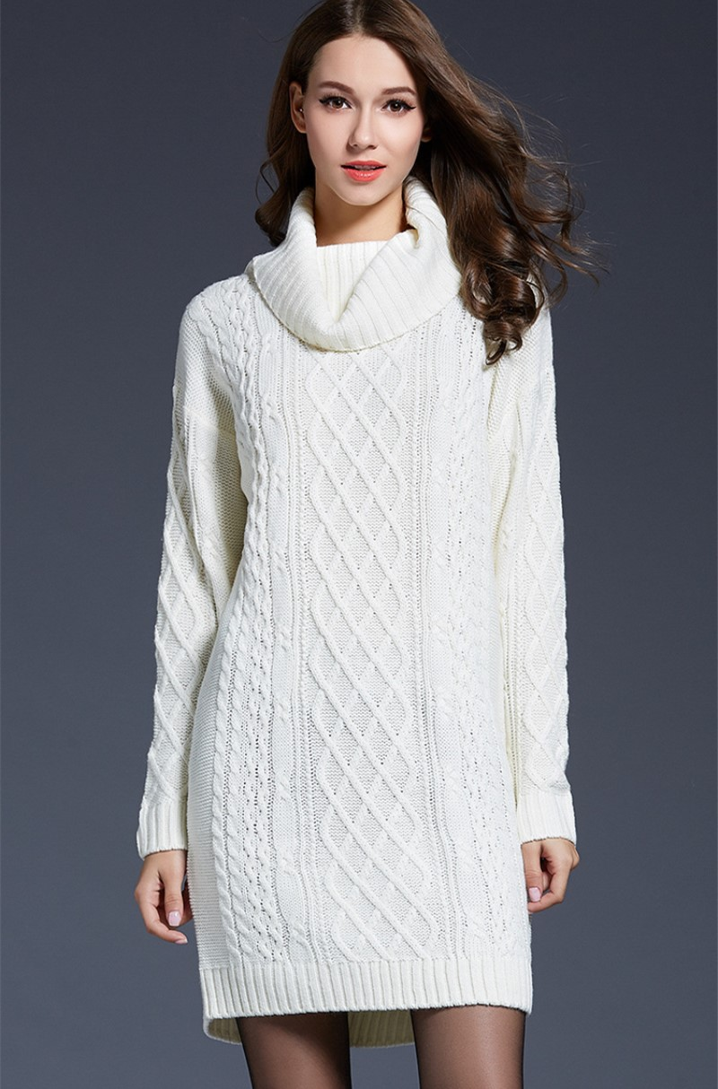Buy Sweater Cable dress picture trends