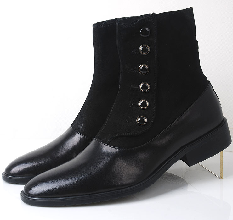 Aliexpress.com : Buy 2013 new men's dresss leather high top boots ...