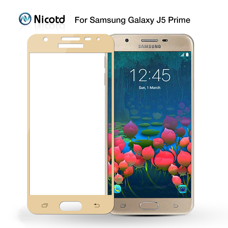 Image 5 - Full Cover Tempered Glass for Samsung Galaxy S6 S7 J2 J5 J7 Prime Note 4 Note 5 Galaxy A3 A5 A7 2016 2017 Screen Protector Film-in Phone Screen Protectors from Cellphones & Telecommunications