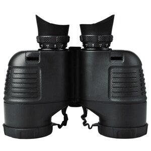 Image 2 - Boshile prismáticos militares telescopio HD 7X50, binoculares impermeables de alta calidad con telémetro y Brújula de azimut