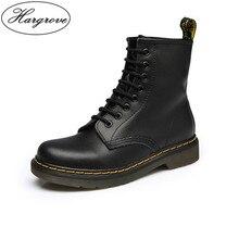 57803f189 Martins Dr mulheres Botas Martins Doc 2018 Britânico Do Vintage Verdadeiro  Clássico Sapatos Da Motocicleta das