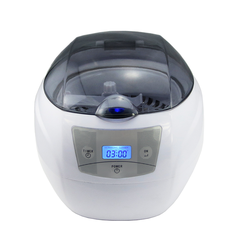 22%,LCD Display Digital Ultrasonic Cleaner With Stainless Steel Tank For Jewelry Watch Denture Glasses Cleaning Machine 750ml