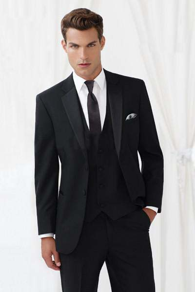 Mens Black And White Wedding Suits - Ocodea.com