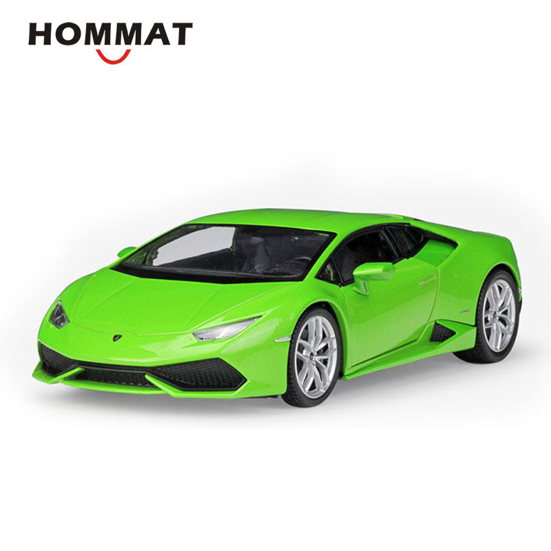 HOMMAT Simulation 1:24 Scale Huracan LP610 4 Super Alloy Model Car Diecast Vehicles Car Model Collectible Gift Cars For Children-in Diecasts & Toy Vehicles from Toys & Hobbies    1