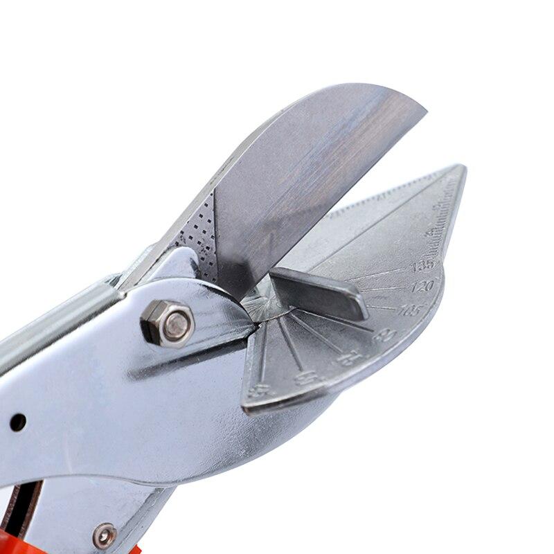 Multi Angle  Scissors Shears Miter Cutter 45-135° Hand Shear Crimping Plier Set