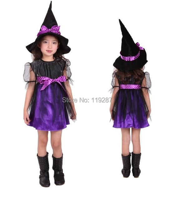 Shanghai Story new Purple cute Kids Halloween costumes hardcover ...