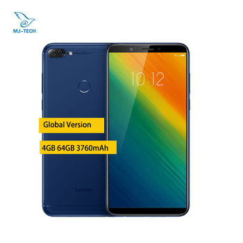 Global Version Lenovo K9 Note 4GB 64GB Android 8.1 os 3760mAh 6-inch Face ID octa core mobile phone Lenovo Phones