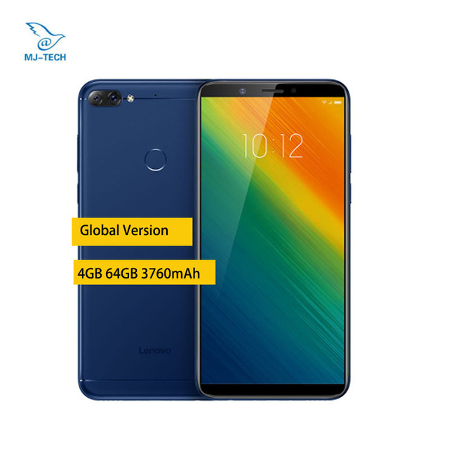 Global Version Lenovo K9 Note 4GB 64GB Android 8.1 os 3760mAh 6-inch Face ID octa core mobile phone