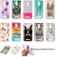 For Xiaomi Redmi Note 3 Fashion Patterns Cartoon Soft TPU Ultra Case For Xiaomi Redmi Note 3 Protective Colorful Shell Cover