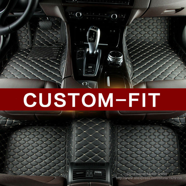 Aliexpress Com Buy Car Floor Mats For Bmw F10 F11 F15