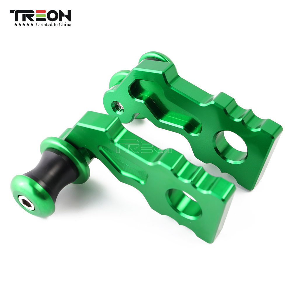 For <font><b>Kawasaki</b></font> Z900 <font><b>Z</b></font> <font><b>900</b></font> <font><b>2017</b></font> Axle Block Slider CNC Aluminum Motorcycle Swingarm Swing Arm Spool Slider Adapters Mounts image