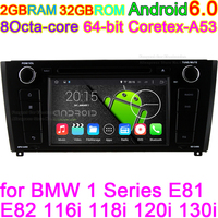 8 Octa Core Android 6 0 Car DVD Player For BMW 1 Series E81 E82 116i