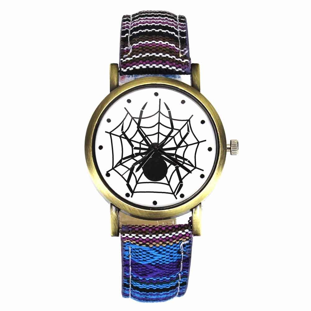 Scary Black Spider Web Εντομοαπωθητικό Ρολόγια - Ανδρικά ρολόγια - Φωτογραφία 3