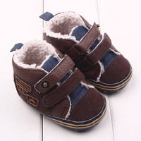 Cool 1pair Antiskid Baby Winter Boots Prewalker First Walkers Super Quality Kids Infant Toddle Shoes