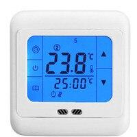 24V/30V/110V/220V Digital Temperature Regulator Gas Boiler Heating thermostat Programmable with backlight LCD Touch Screen
