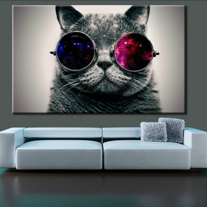 Decor, Painting, For, Mural, Glasses, Wall
