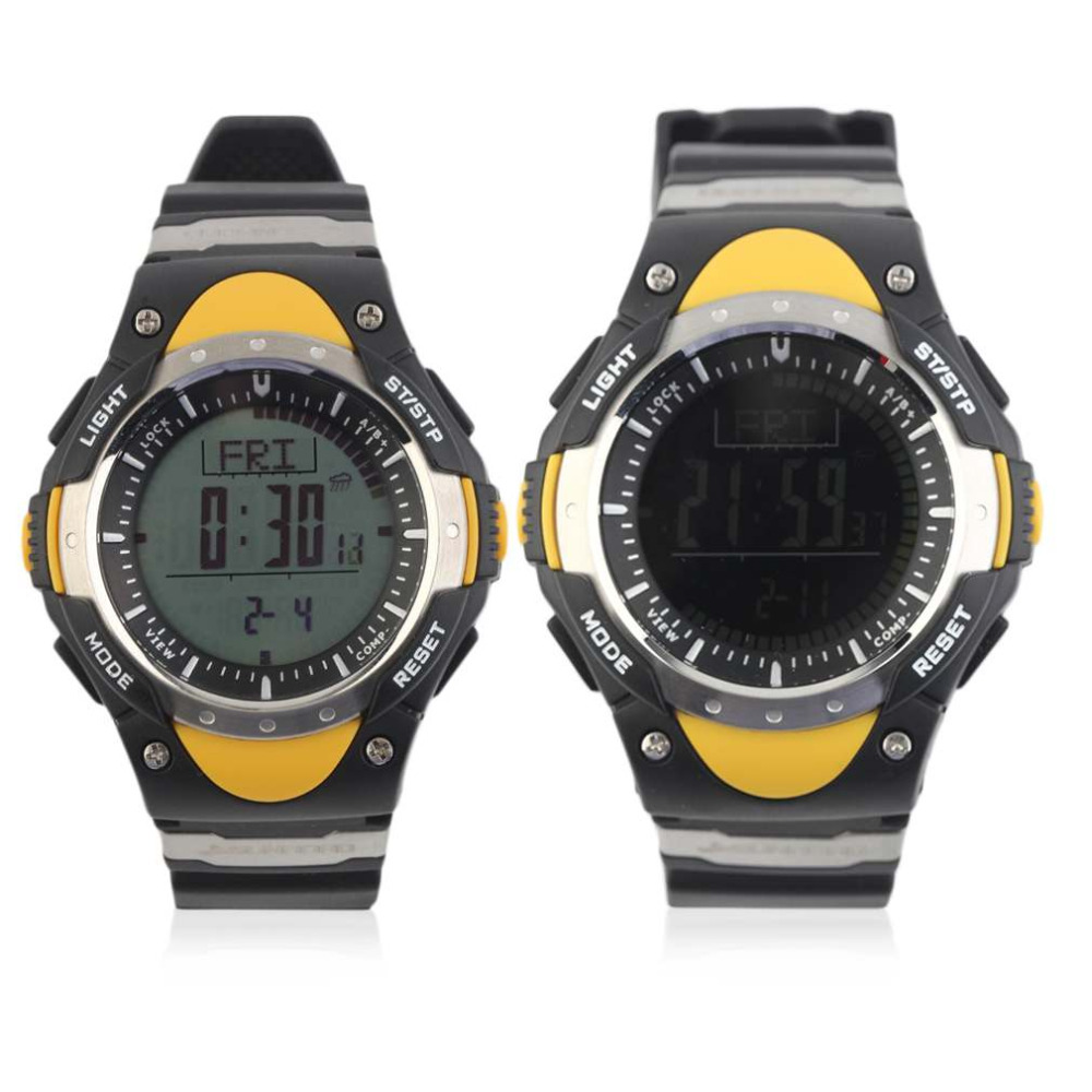 OUTAD Electronic Sport Watch Outdoor Climbing Digital Wrist watches Reloj hombre Silicone Band LCD Display FR828A/FR828B relogio 2017 new colorful boys girls students time electronic digital wrist sport watch drop shipping 0307