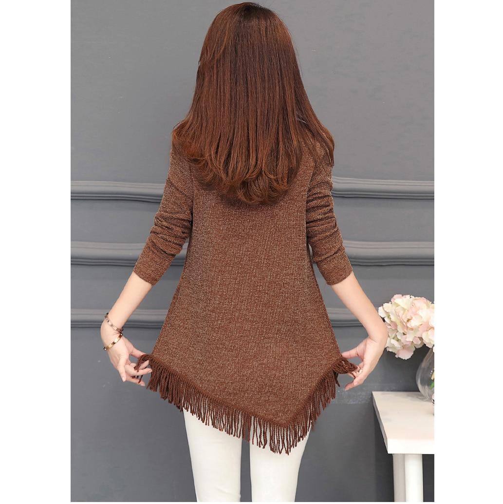 Autumn Winter Top Femme Vintage Tassel Tunic Blouse Women Korean Fashion Plus Size Long Sleeve Female Blouse Shirt Blusas Mujer 5