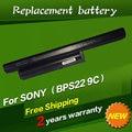 JIGU 6600mAh 9 Cells laptop battery BPS22 VGP-BPS22 VGP-BPL22 VGP-BPS22A VGP-BPS22/A notebook battery for SONY VAIO E series